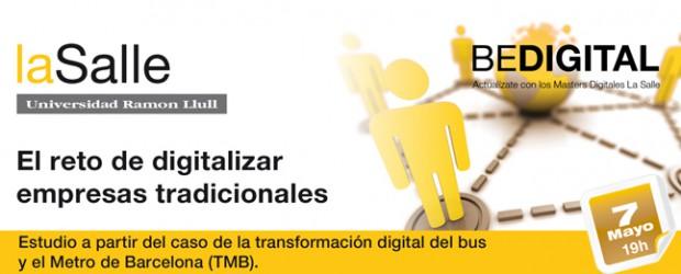 Evento: El reto de digitalizar empresas tradicionales