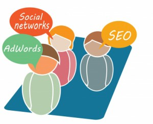 adwords, social media
